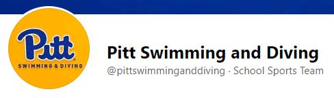 Pitt Swim & Diving Facebook