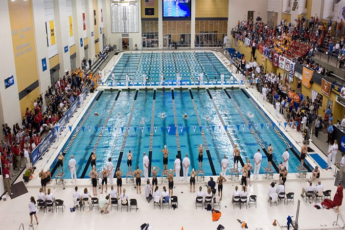 Purdue's swim pool