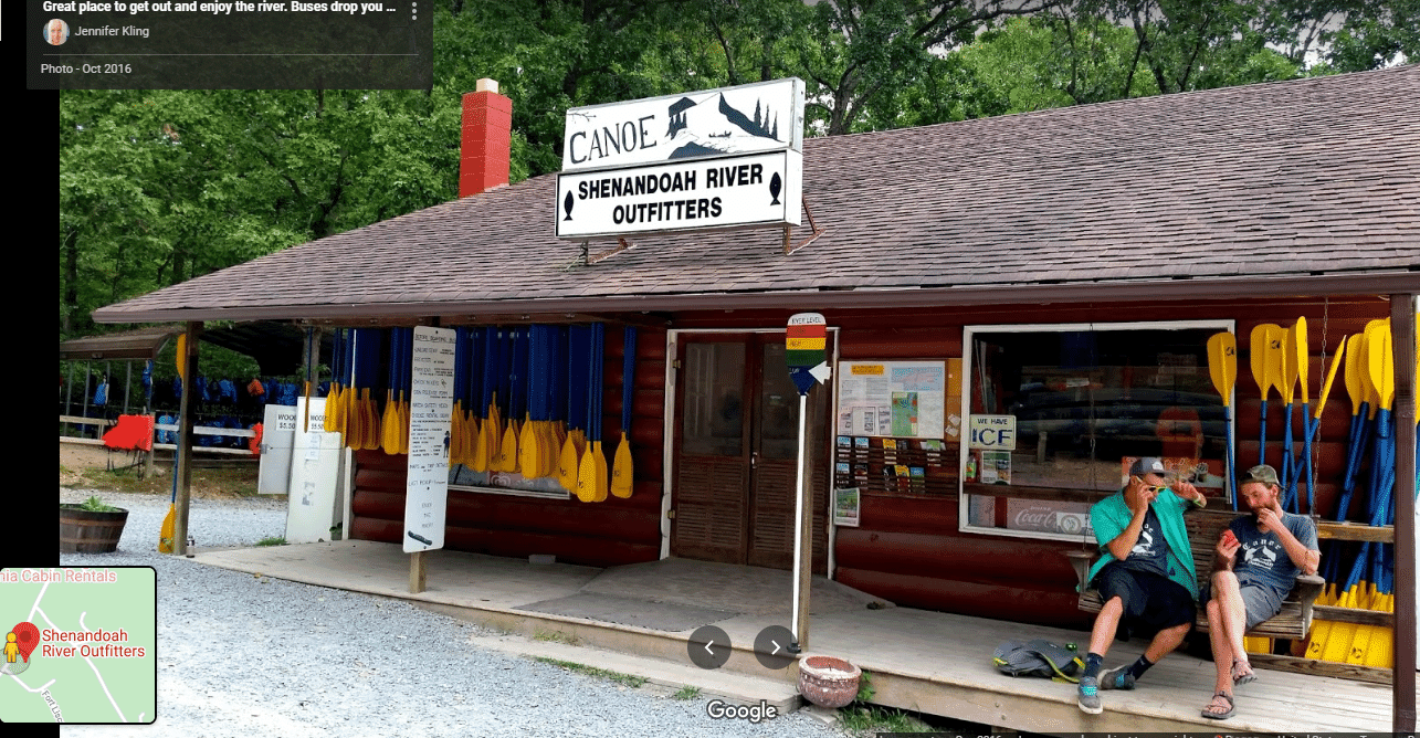 Outfitters, storefront